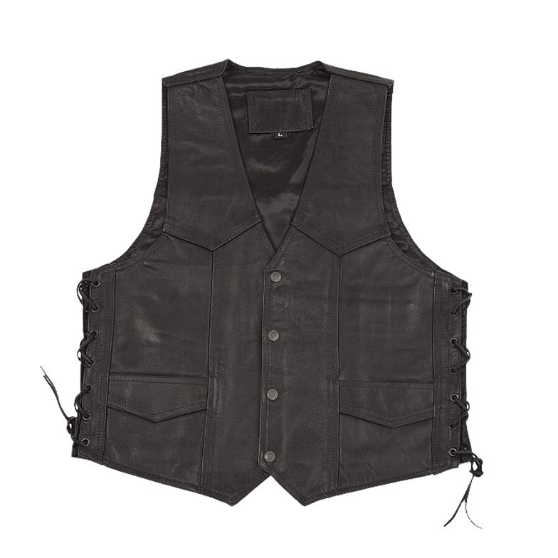 Modeka - Motocklová kožená vesta