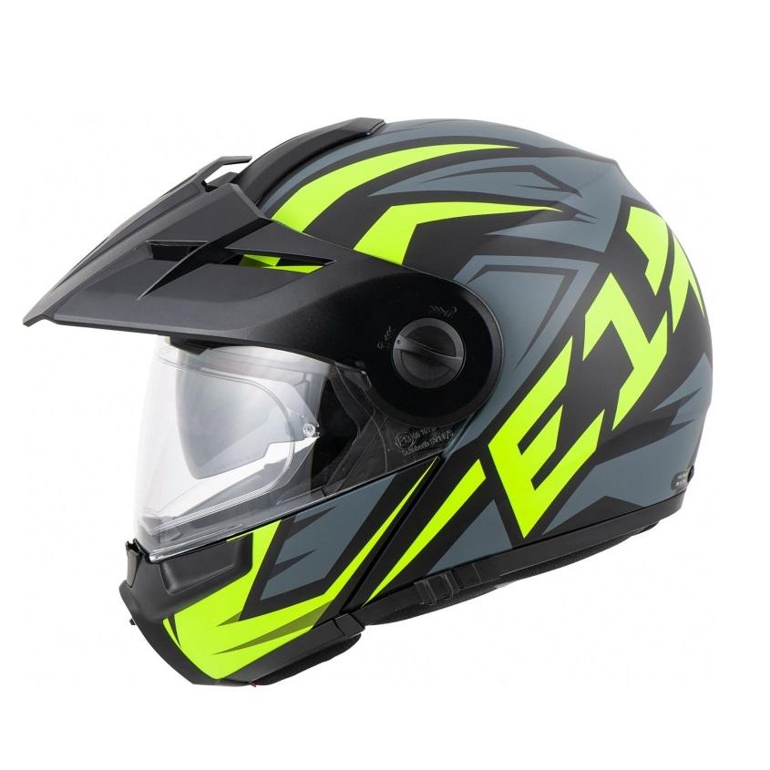 Schuberth - Motocyklová helma E1 Tuareg yellow