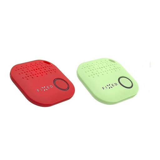 Interphone - Key finder FIXED Smile, DUO PACK - červený + zelený