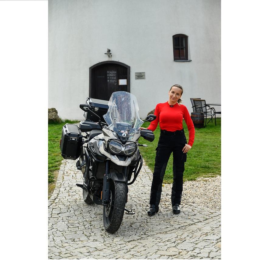 Moto Jitka - Triko RE-AGTOR  s dlouhým rukávem dámské