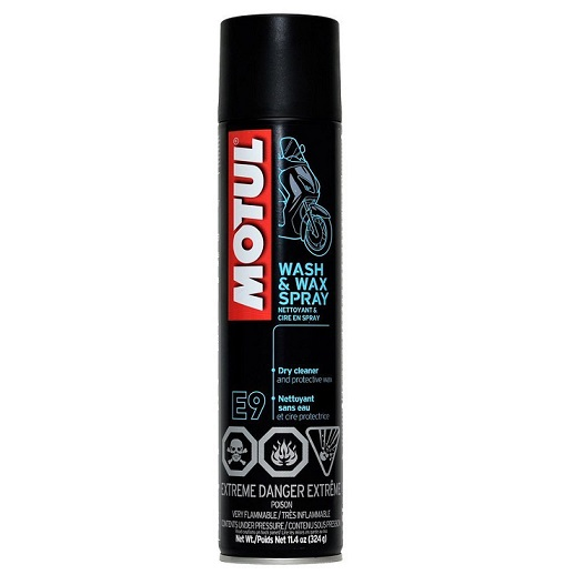 Motul - E9 Wash-Wax Spray 0,4L