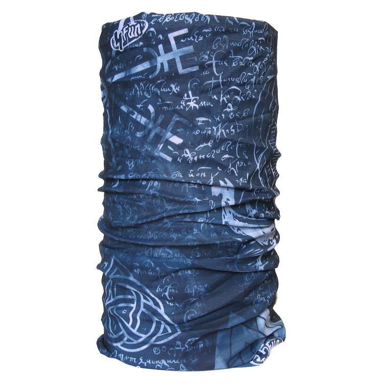 Nano - Nákrčník Viking Symbols dark blue 24