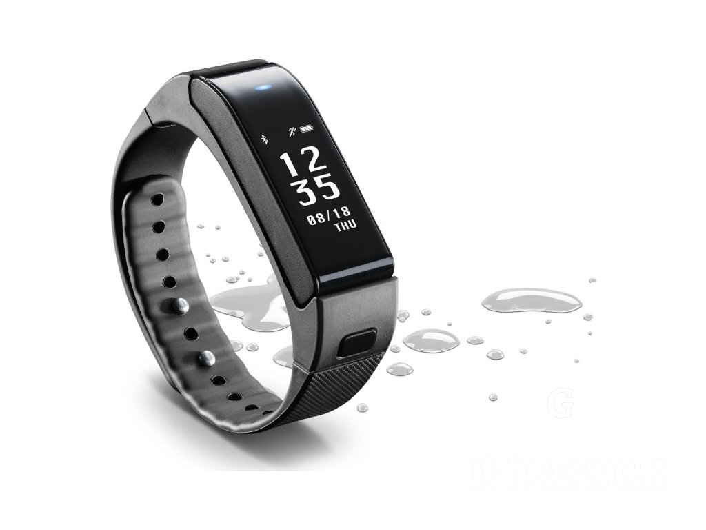 Cellularline - Bluetooth fitness náramek s odnímatelným headsetem CellularLine EASYFIT TOUCH TALK