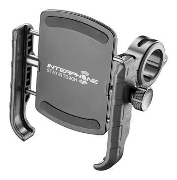 Interphone - Univerzální držák na mobilní telefony Interphone Crab s úchytem na řidítka