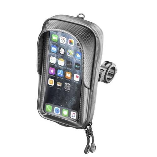 Interphone - Univerzální držák na mobilní telefony Interphone Master s úchytem na řídítka
