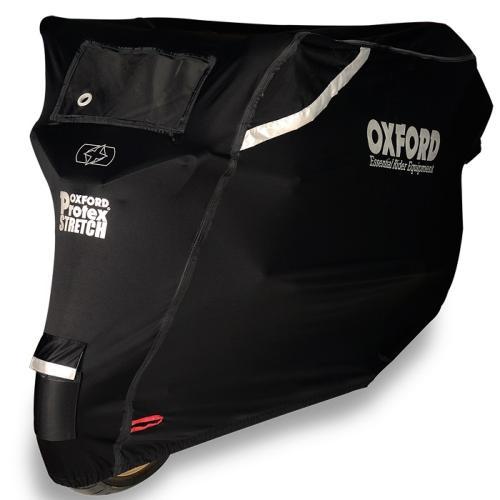 Oxford - PLACHTA NA MOTORKU PROTEX STRETCH OUTDOOR S KLIMATICKOU MEMBRÁNOU ( L )
