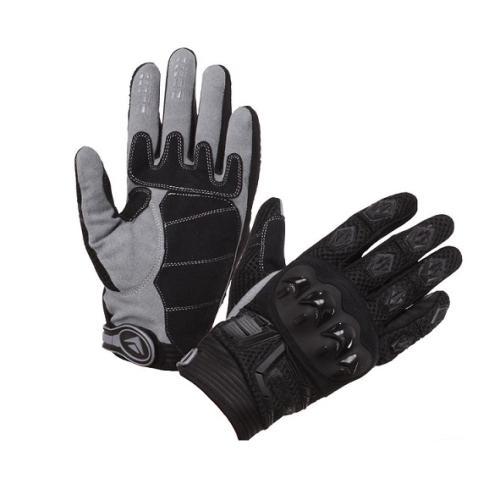 Modeka - Cestovní rukavice MX TOP - ČERNÉ