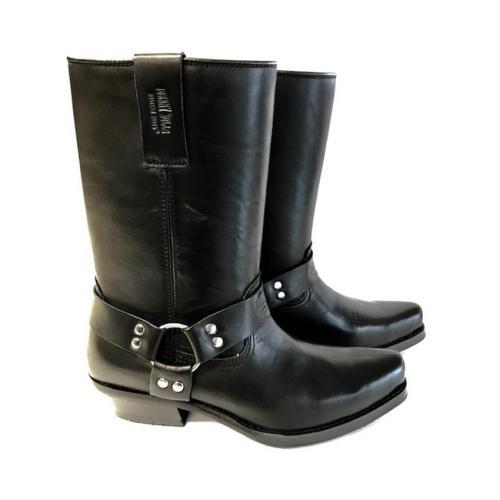 Johnny Bulls - Westernová obuv Nappa Black 383
