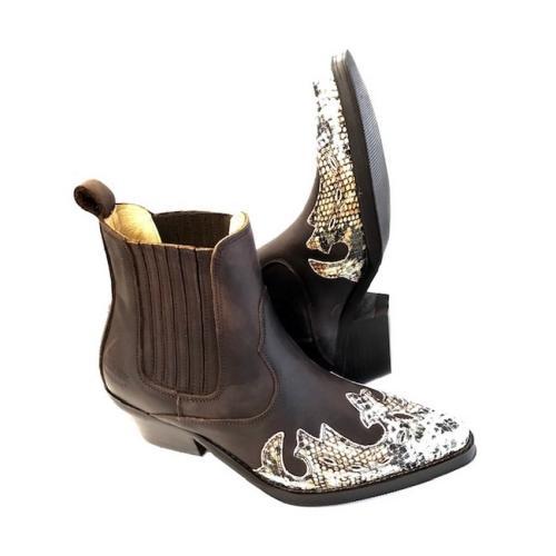 Johnny Bulls - Westernová obuv Snake 397