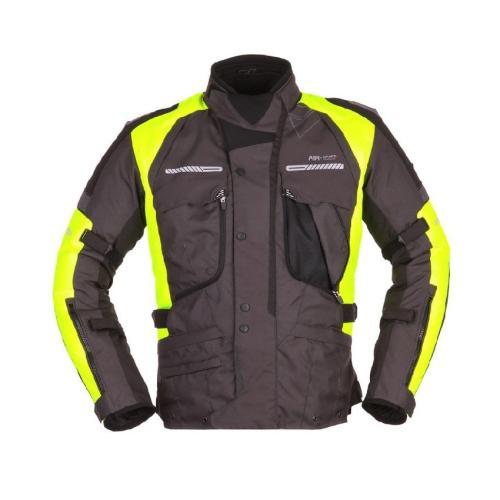 Modeka - Motocyklová bunda Westport - Černá / Neonová