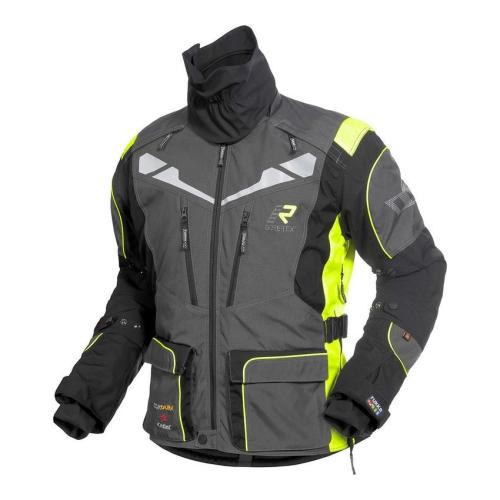 Rukka - Motocyklová bunda Roughroad - Šedá/Žlutá