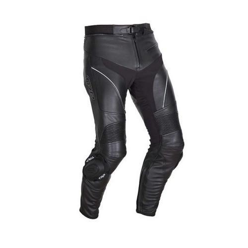 TRP - Motocyklové sportovní kalhoty Faster - Černá/Bílá