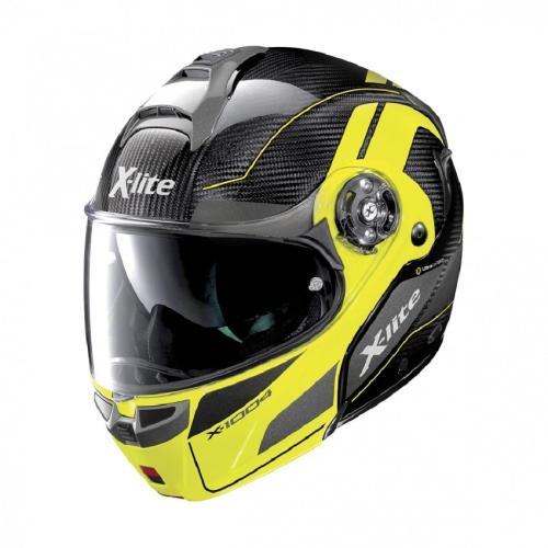 X-Lite - Motocyklová přilba  X-1004 Ultra Carbon yellow