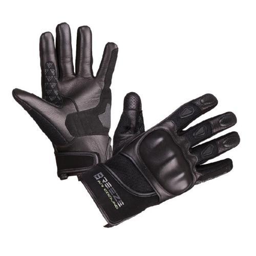 Modeka - Cestovní rukavice Breeze - Černé
