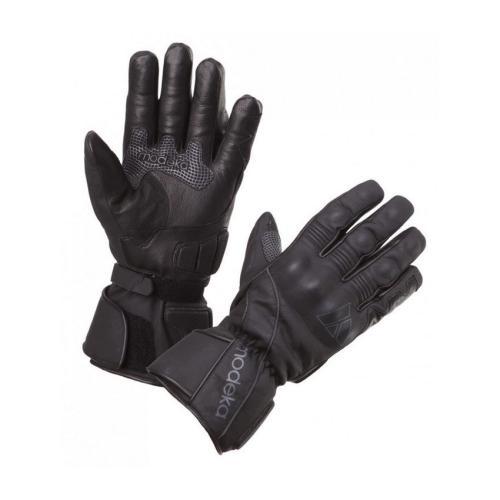 Modeka - Motocyklové rukavice Stavanger - Černé