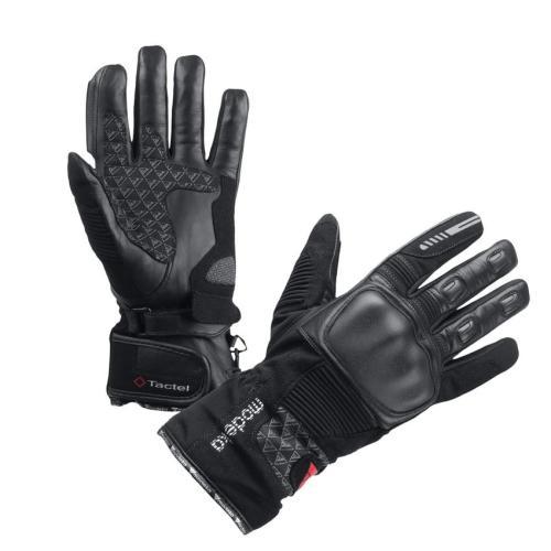 Modeka - Cestovní rukavice Tacoma černé