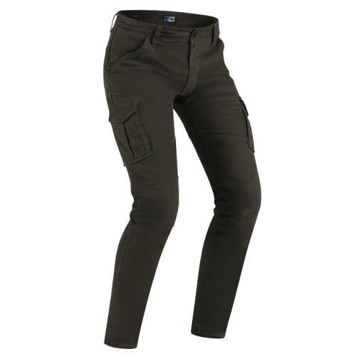 PMJ - Motocyklové kalhoty Santiago Khaki