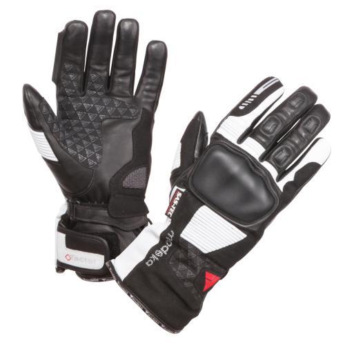 Modeka - Cestovní rukavice Tacoma II černá/šedá