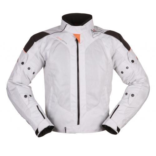 Modeka - Motocyklová pánská bunda Upswing šedá