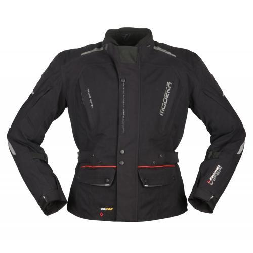 Modeka - Cestovní bunda Viper LT černá