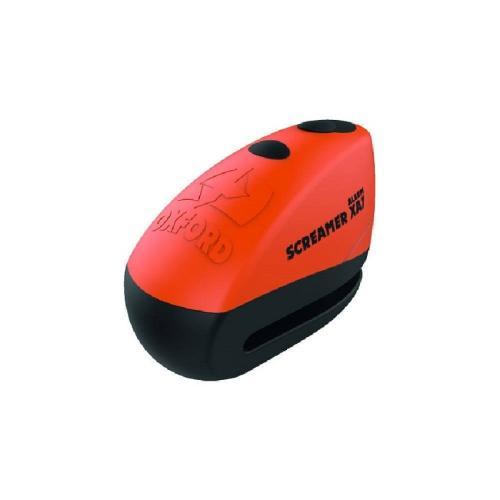 Oxford - Zámek kotoučový  SCREAMER XA7 (oranžový) + Alarm