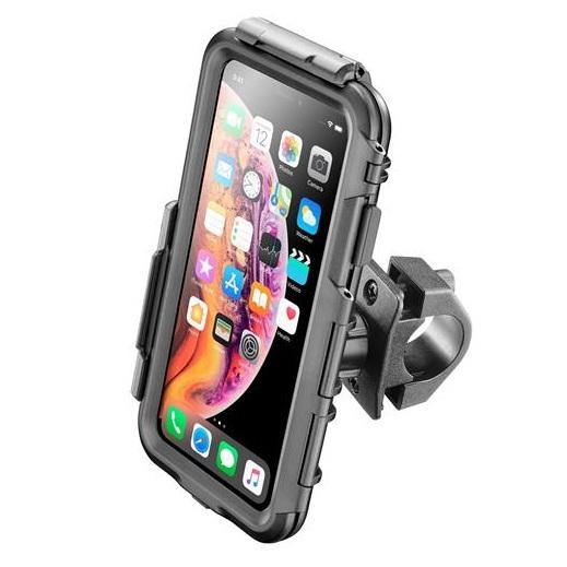 Interphone - Voděodolné pouzdro Interphone pro Apple iPhone XS Max, úchyt na řídítka