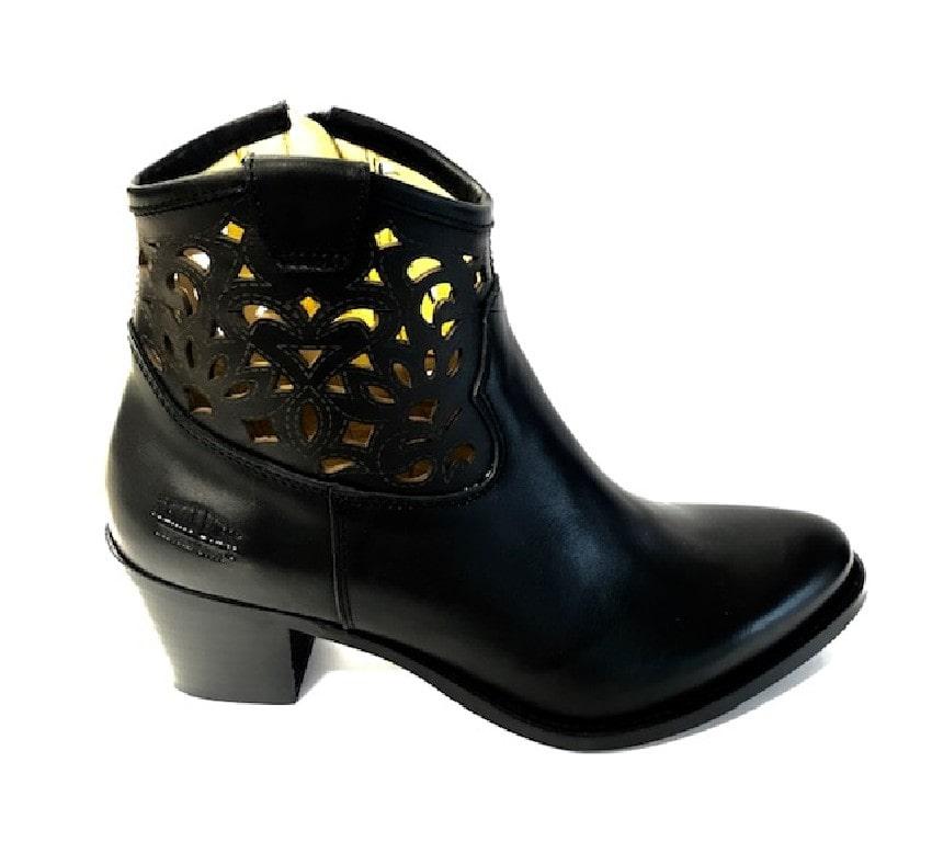 Johnny Bulls -  Autolucido Negro 659 dámská obuv