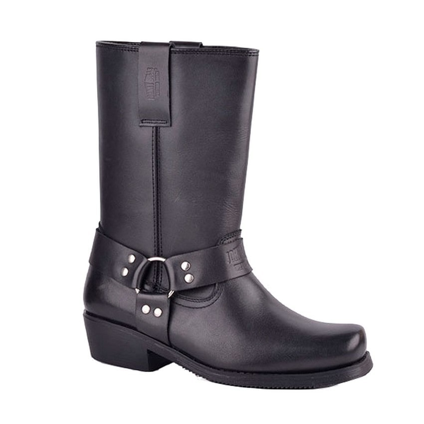 Johnny Bulls - Motocyklová obuv Nappa Black - 48114