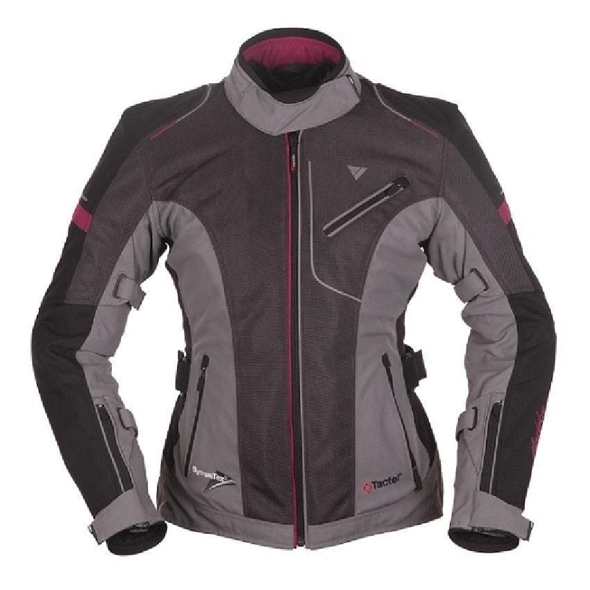 Modeka - Motocyklová bunda Belastar Lady šedá