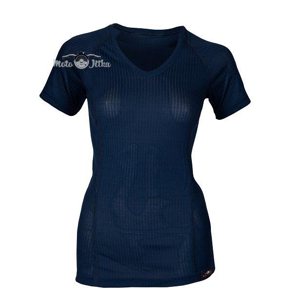 Moto Jitka - Termo triko dámské  s výstřihem V
