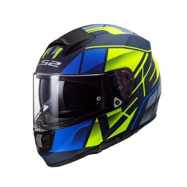 LS2 - Motocyklová přilba FF397 VECTOR FT2 KRIPTON MATT BLUE HI
