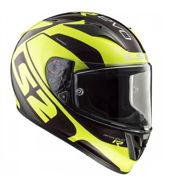 LS2 - FF323 ARROW C EVO STING WINEBERRY H-V YELLOW