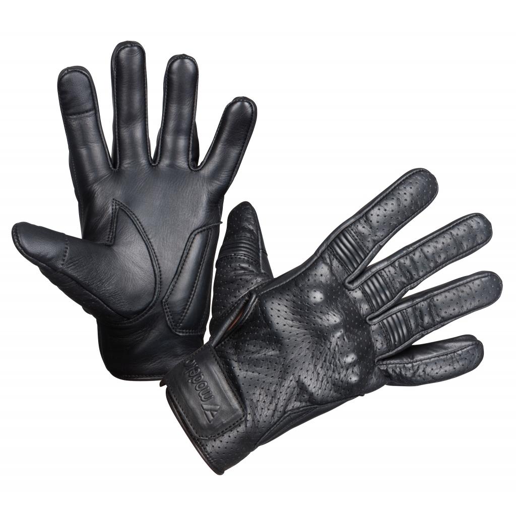 Modeka - Pánské rukavice Hot Two černé
