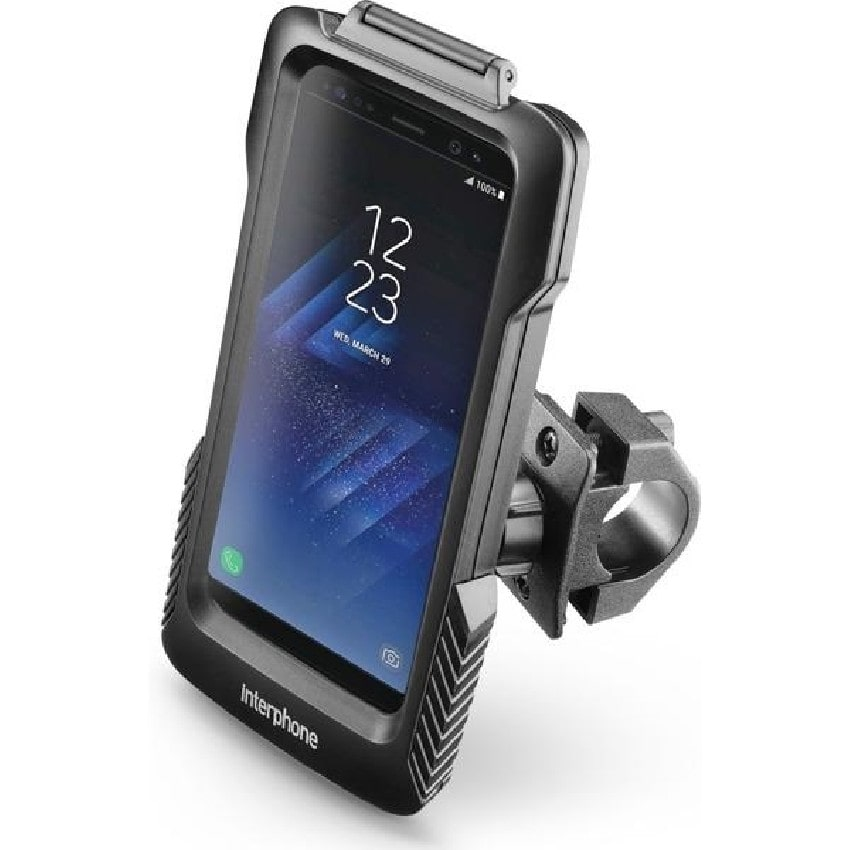 Interphone - Voděodolné pouzdro Interphone Pro Case pro Samsung Galaxy S8, úchyt na řídítka, černé