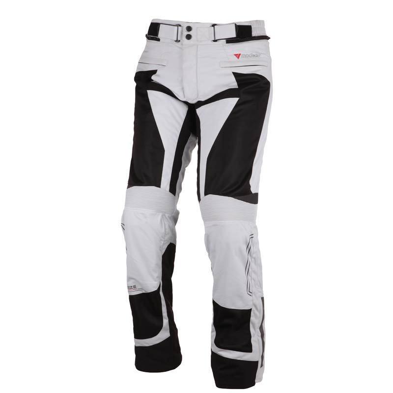 Modeka - Cestovní kalhoty Breeze pánské světle šédé