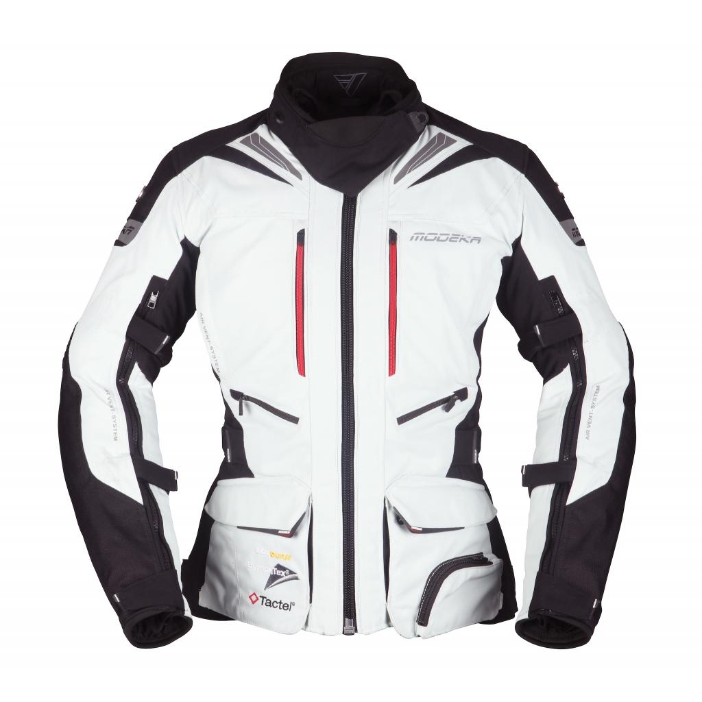 Modeka - Motocyklová bunda Panamericana Lady ashen