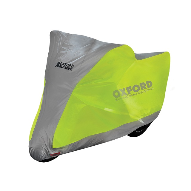 Oxford - Motocyklová plachta žlutá/stříbrná M
