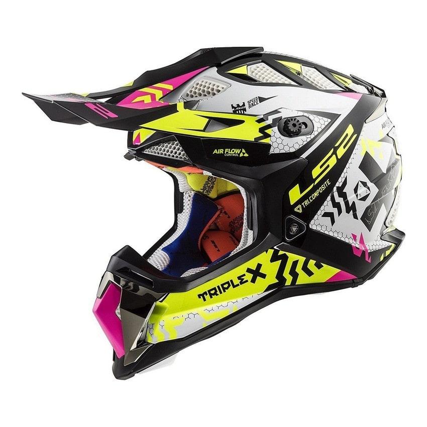 LS2 - LS2 MX470 SUBVERTER Black Pink H-V Yellow