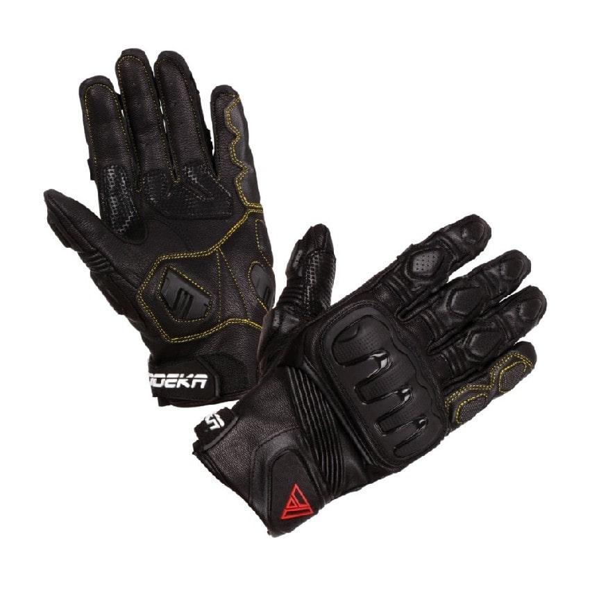 Modeka - Motocyklové rukavice Baali - Černá