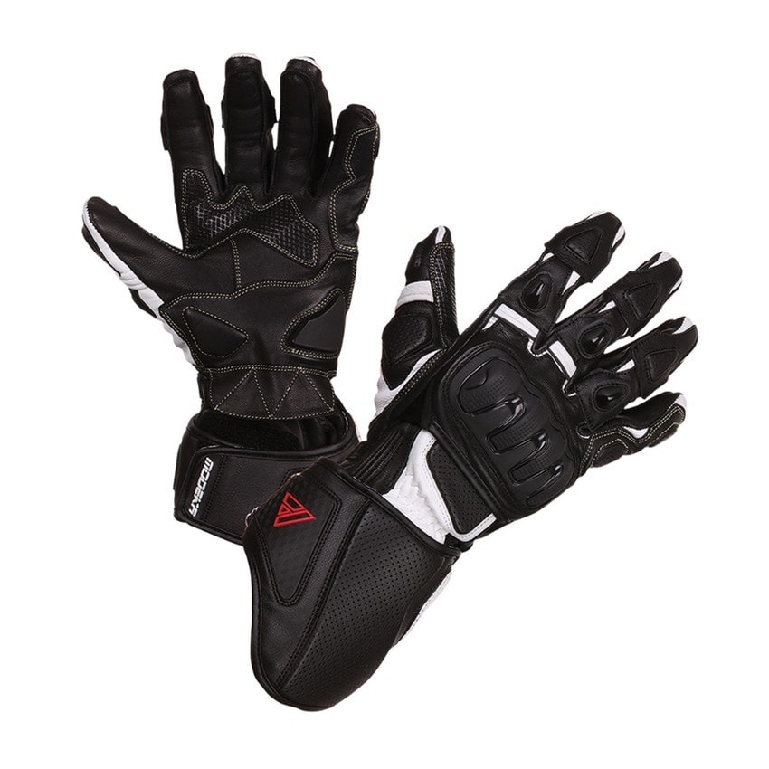 Modeka - Sportovní rukavice Jayce - Černo-bílé