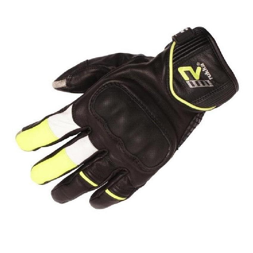 Rukka - Cestovní rukavice Rytmi - Černá/Žlutá