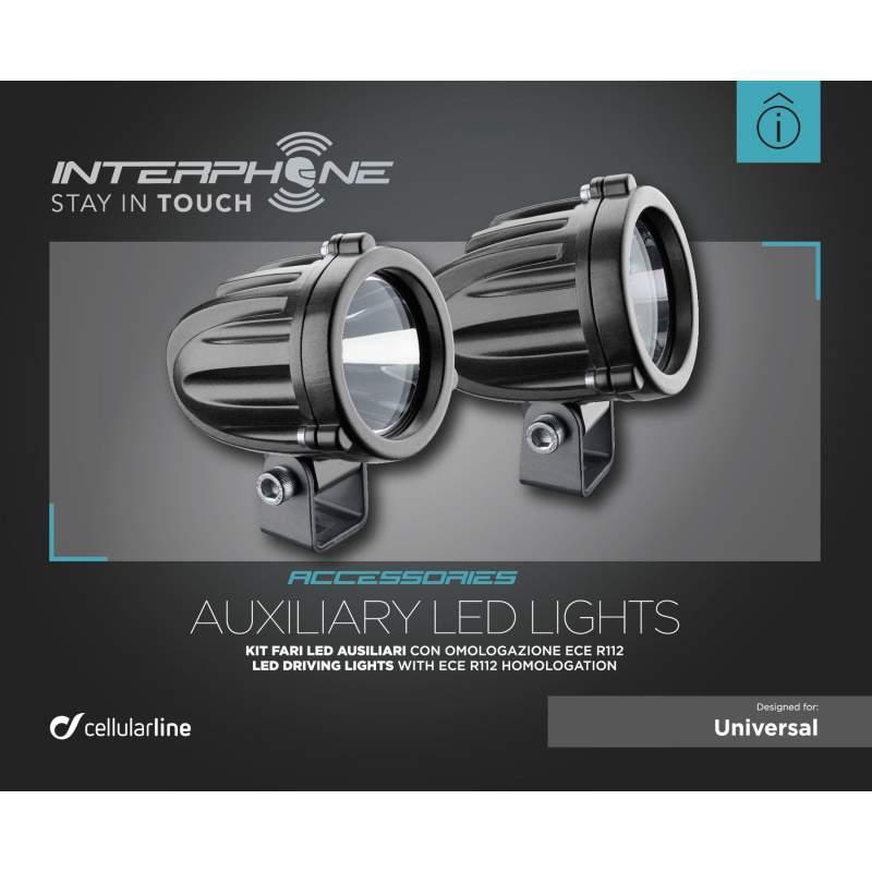 Interphone - Přídavná světla sada 10W LED osvětlení