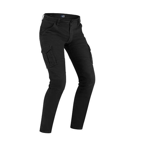 PMJ - Kalhoty na moto Santiago černé