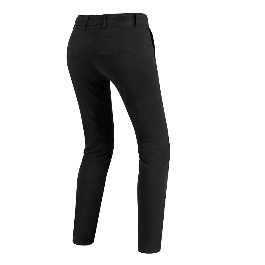 PMJ - Motocyklové kalhoty  Santiago Lady černé