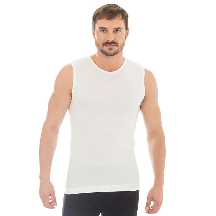 Brubeck - Pánské termo triko bez rukávů Merino Wool