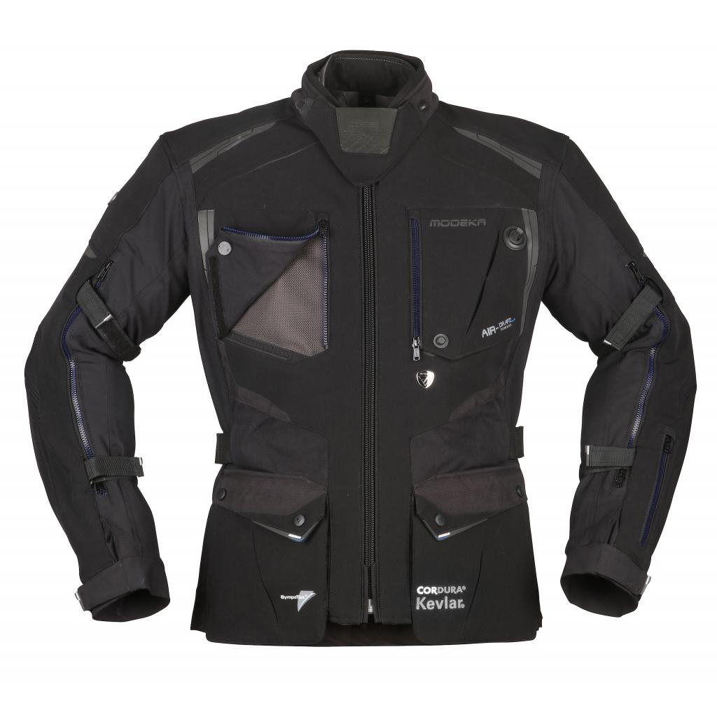 Modeka - Cestovní bunda Talismen černá