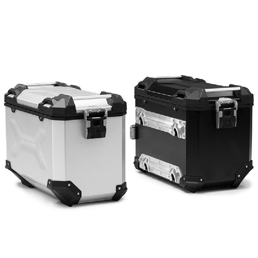 SW-Motech - Hliníkový kufr TRAX Adventure 45l stříbrný levý