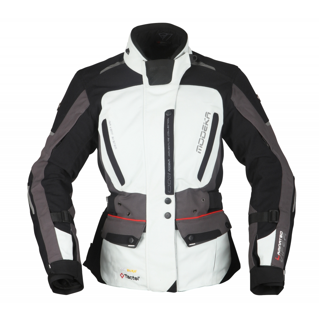 Modeka - Cestovní bunda Viper LT Lady  šedá